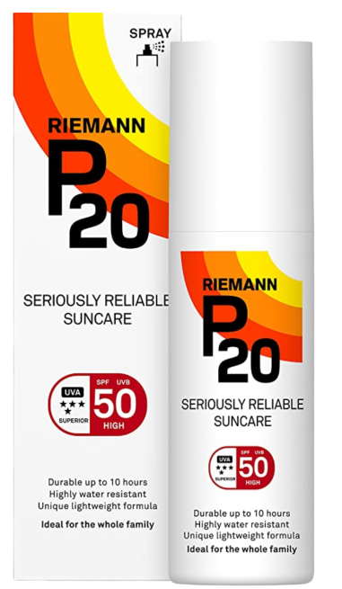 Riemann P20 Sun Filter Spf50+ Sunscreen