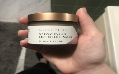 Volition Beauty Detoxifying Silt Gelee Mask: Dry Skin-Approved